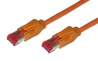 Alcasa 8066-125O 25m Cat6 S/FTP (S-STP) Orange Netzwerkkabel (Orange)