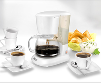 Unold Flavour Freistehend Vollautomatisch Filterkaffeemaschine 1.2l 10Tassen Weiß (Weiß)