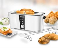 Unold 38020 4Scheibe(n) 1350W Schwarz, Weiß Toaster (Schwarz, Weiß)