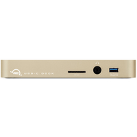 OWC TCDOCK11PGD USB 3.0 (3.1 Gen 1) Type-B Gold Notebook-Dockingstation & Portreplikator (Gold)