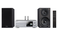 Pioneer HUB X-HM76-S (SILVER) 1291880 Micro-Set 100W Schwarz, Silber (Schwarz, Silber)