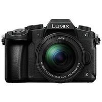 Panasonic Lumix DMC-G81 + G VARIO 12-60mm MILC Body 16MP Live MOS 4592 x 3448Pixel Schwarz (Schwarz)