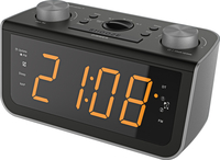 Soundmaster FUR5005 Uhr Digital Schwarz Radio (Schwarz)