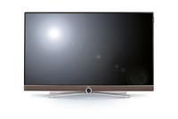 LOEWE 54445O57 40Zoll 4K Ultra HD Smart-TV WLAN LED-Fernseher (Schwarz, Cappuccino)