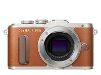 Olympus PEN E-PL8 16.1MP 4/3Zoll Live MOS 4608 x 3456Pixel (Braun)