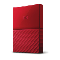 Western Digital My Passport Micro-USB B 3.0 (3.1 Gen 1) 3000GB Rot (Rot)