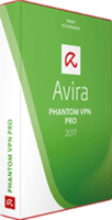 Avira Phantom VPN Pro 2017 Full license 3Benutzer 1Jahr(e) Deutsch