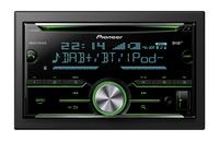 Pioneer FH-X840DAB Bluetooth Schwarz Auto Media-Receiver (Schwarz)