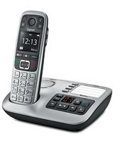 Gigaset E560A DECT Anrufer-Identifikation Schwarz, Silber Telefon (Schwarz, Silber)