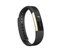 Fitbit Alta Wristband activity tracker OLED Kabellos Schwarz (Schwarz, Gold)