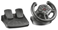 Trust GXT 570 Reifen + Pedale PC,Playstation 3 Schwarz (Schwarz)