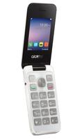 Alcatel 20.51D 2.4Zoll Weiß Funktionstelefon (Weiß)