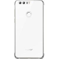 Huawei HO51991679 5.2Zoll Abdeckung Silber Handy-Schutzhülle (Silber, Transparent)