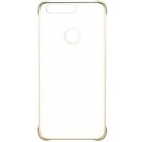 Huawei HO51991680 5.2Zoll Abdeckung Gold,Transparent Handy-Schutzhülle (Gold, Transparent)