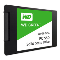 Western Digital Green 120 GB Serial ATA III (Schwarz)