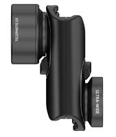 olloclip Active Lens Set Tele & wide Schwarz Handy-Linse (Schwarz)