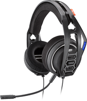 Plantronics RIG 400HS Binaural Kopfband Schwarz Headset (Schwarz)