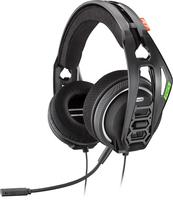 Plantronics RIG 400HX Binaural Kopfband Schwarz Headset (Schwarz)