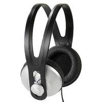 Vivanco 36502 Schwarz, Silber ohrumschließend Kopfband Kopfhörer (Schwarz, Silber)