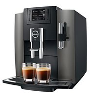 Jura E8 Pad-Kaffeemaschine 1.9l Schwarz (Schwarz)