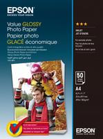 Epson Value Glossy Photo Paper A4 (210×297 mm) Glanz Mehrfarben (Mehrfarben)