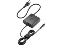HP USB-C Travel Power Adapter 65W Innenraum 65W Schwarz Netzteil & Spannungsumwandler (Schwarz)