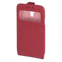 Hama Smart Case Window 5Zoll Flip Rot (Rot)