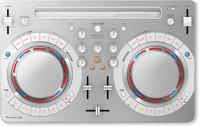 Pioneer DDJ-WEGO4-W 2channels Weiß DJ-Controller (Weiß)
