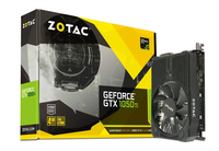 Zotac GeForce GTX 1050 Ti Mini GeForce GTX 1050 Ti 4GB GDDR5 (Schwarz)