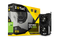 Zotac GeForce GTX 1050 Ti OC Edition GeForce GTX 1050 Ti 4GB GDDR5 (Schwarz)