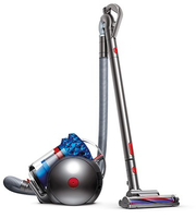 Dyson Cinetic Big Ball Allergy Zylinder-Vakuum Blau, Silber (Blau, Silber, Transparent)
