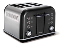 Morphy Richards 242018 Toaster (Schwarz, Edelstahl)