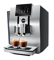 JURA Z8 Freistehend Vollautomatisch Espressomaschine 2.4l 20Tassen Aluminium, Schwarz (Aluminium, Schwarz)