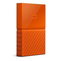 Western Digital My Passport 1TB Micro-USB B 3.0 (3.1 Gen 1) 1000GB Orange (Orange)