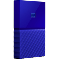 Western Digital My Passport 2TB 2000GB Blau (Blau)