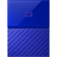 Western Digital My Passport 4TB 4000GB Blau (Blau)