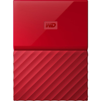 Western Digital My Passport 4TB 3.0 (3.1 Gen 1) 4000GB Rot (Rot)