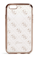 GUESS GUHCP7TR4GRG Handy-Abdeckung Gold,Transparent Handy-Schutzhülle (Gold, Transparent)