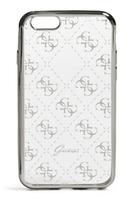 GUESS GUHCP7TR4GSI Handy-Abdeckung Silber Handy-Schutzhülle (Silber, Transparent)