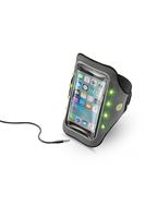 Cellular Line Armband Running Light 5.2Zoll Mobile phone armband Schwarz, Weiß (Schwarz, Weiß)