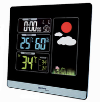 Technoline WS 6448 Schwarz digital weather station (Schwarz)