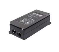 Intellinet 561037 Gigabit Ethernet PoE-Adapter (Schwarz)