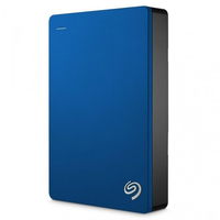 Seagate Backup Plus Portable USB Type-A 3.0 (3.1 Gen 1) 5000GB Blau (Blau)
