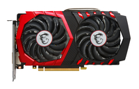 MSI GeForce GTX 1050 Ti Gaming X 4G (Schwarz, Rot)