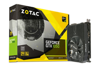 Zotac GeForce GTX 1050 Mini GeForce GTX 1050 2GB GDDR5 (Schwarz)