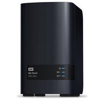 Western Digital My Cloud EX2 Ultra 6 TB NAS Kompakt Eingebauter Ethernet-Anschluss Schwarz (Schwarz)