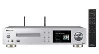 Pioneer NC-50DAB Eingebauter Ethernet-Anschluss WLAN Silber Digitaler Audio-Streamer (Silber)