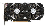 MSI V809-2286R GeForce GTX 1050 2GB GDDR5 Grafikkarte (Schwarz)