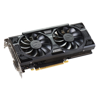 EVGA GeForce GTX 1050 SSC GAMING ACX 3.0 GeForce GTX 1050 2GB GDDR5 (Schwarz)