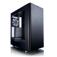 Fractal Design Define C - Window Schwarz Computer-Gehäuse (Schwarz)